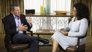 Lance Armstrong dan Oprah