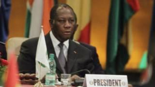 Shugaban kungiyar ECOWAS Alassane Ouattara
