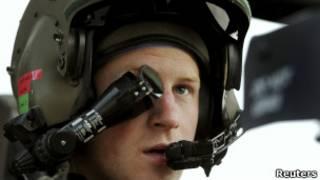 Príncipe Harry en Afganistán