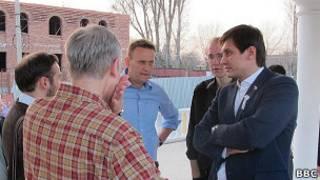 Шеин, Гудков, Навальный, Пономарёв в Астрахани