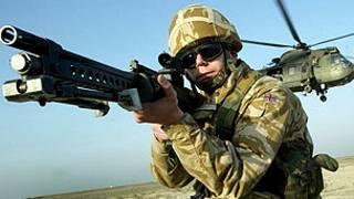 ब्रिटिश सैनिक