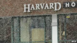 Одной из зданий на кампусе Гарварда (архивное фото)