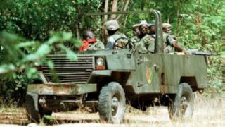 دورية للجيش في كاسامانس
