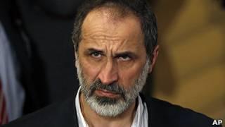 Jagoran 'yan adawar Syria Moaz Al Khatib