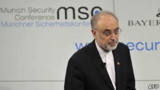 Le ministre iranien des Affaires étrangères Ali Akbar Salehi