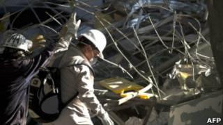 Explosión en edificio de Pemex en Ciudad de México, febrero de 2013