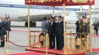 Ахмадинеджад и Морси