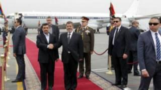 أحمدي نجاد،ايران،مصر،مرسي