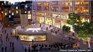 Rencana gedung teater baru Shakespeare