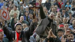 المسلمون والاقباط في مصر