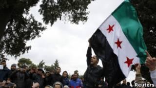 Bendera oposisi Suriah