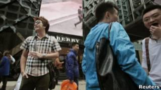 中国一向是巴宝莉品牌的大市场