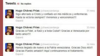 Perfil de Twitter del mandatario venezolano
