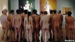 Nudistas en Austria