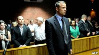 Оскар Писториус в суде во вторник