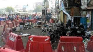 हैदराबाद में धमाके