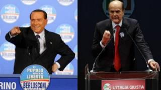 Silvio Berlusconi da Pier Luigi Bersani