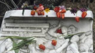 Памятник жертвам погромов в Сумгаите