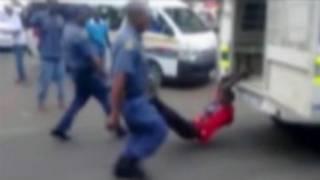 दक्षिण अफ्रीका, पुलिस बर्बरता