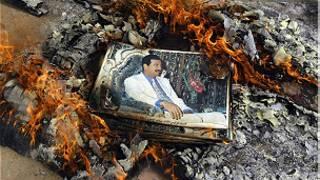 صدام حسين، العراق