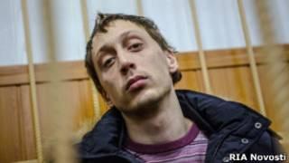 Павел Дмитриченко в зале суда