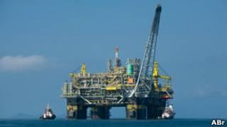 Plataforma de Petrobras (Foto ABr)