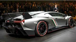 """Nuevo modelo de auto de Lamborghini, """"Veneno"""""""