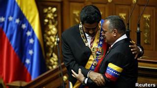 Николас Мадуро и Диосдадо Кабельо