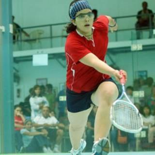 Maria Toorpakai Wazir (Associação de Squash do Paquistão)