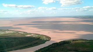 Delta do rio Paraná. BBC Mundo