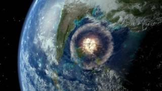 Chicxulub kraterine yol açan asteroid çarpması