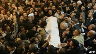 Funeral de Mohamed Said Ramadan al Buti