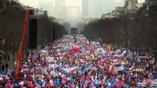 paris anti gay rally
