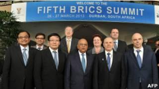Cúpula dos BRICS em Durban | Foto: AFP