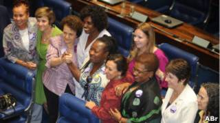 Aprovação da PEC das Domésticas no Senado (Foto: José Cruz/ABr)