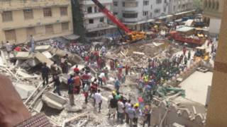 Tanzanya'da çöken bina