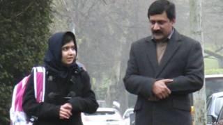 मलाला युसुफजई और जियाउद्दीन