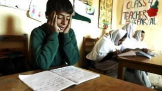 पाकिस्तान में स्कूली बच्चे