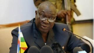 Michel Djotodia, le président centrafricain de transition