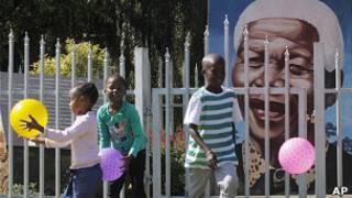 Nelson Mandela ve Jacob Zuma
