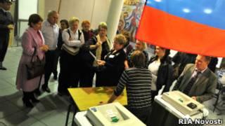 Подсчет голосов на выборах губернатора Рязанской области 14 октября 2012 г.