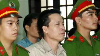Ông Đoàn Văn Vươn trong phiên sơ thẩm