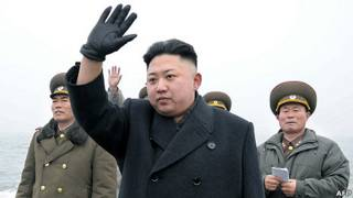 Kim Jong-un thị sát quân đội