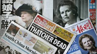 Bà Magaret Thatcher qua đời 08/04/2013