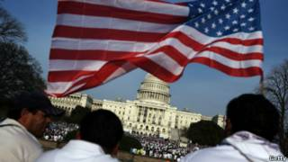 Biểu tình đòi cải cách luật nhập cư ở Mỹ