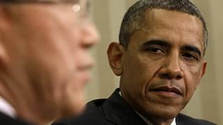 اوباما در ملاقات با بان کی مون