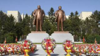 Памятник в Пхеньяне