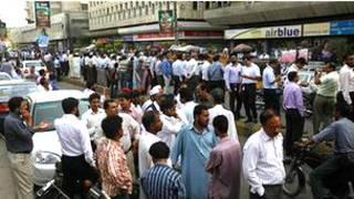 Varias oficinas fueron evacuadas en Pakistán debido al sismo
