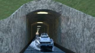 Ulaşım su tünelinin temsili resmi