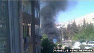 Bomba en Damasco